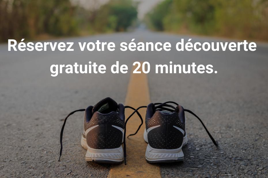 Réservez votre séance découverte gratuite de 20 minutes.
